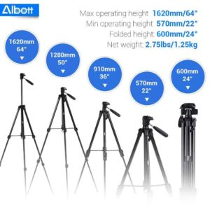 "Albott 64"" Tripod Review"