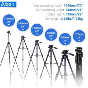 "Albott 70"" Camera Tripod Review"