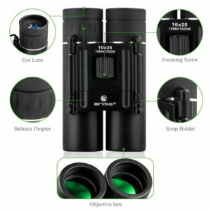 BNISE-1115 Mini Binoculars 10x25 Review