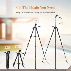 Fotopro DG-3400 Camera Mobile Phone Stand Tripod Review