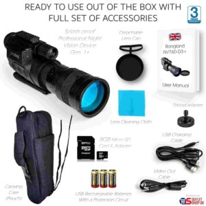 Rongland NV760D3+ Professional Digital Night Vision Device Review