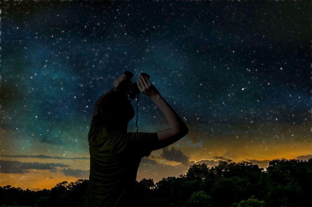 Binoculars Stargazing