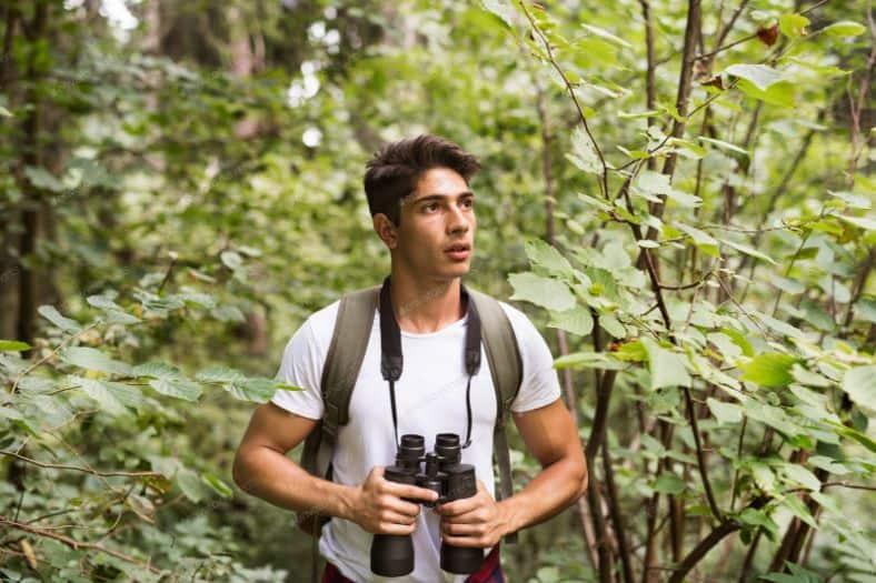 binoculars backpacking and Hiking